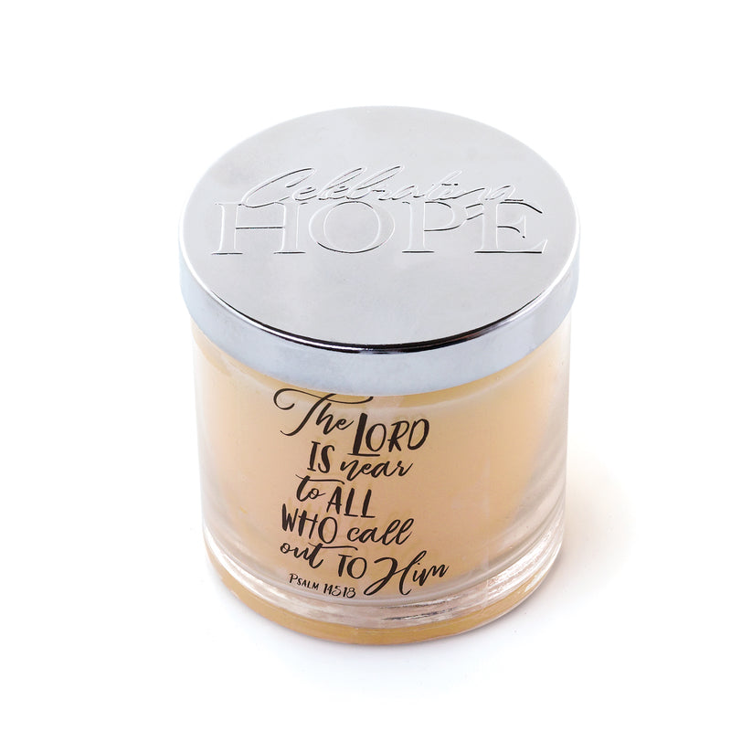 Hope Inspirational Candle - Vanilla Bean