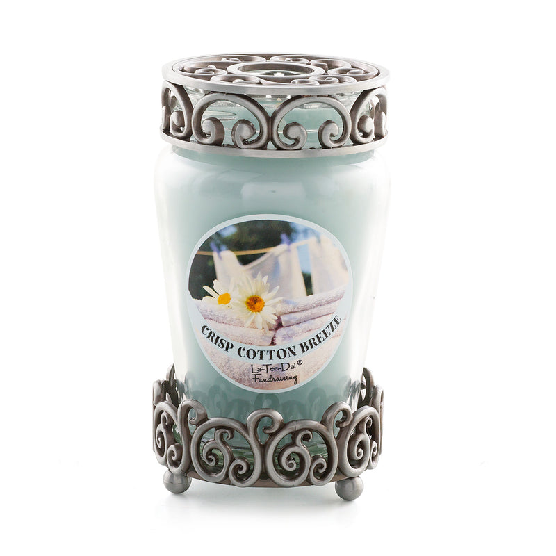 Crisp Cotton Breeze - Classic Candle Set