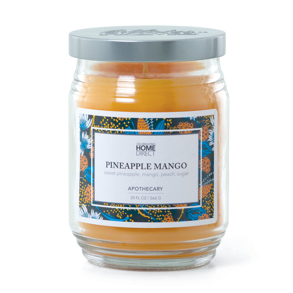 Apothecary Candle - 20 oz - Pineapple-Mango