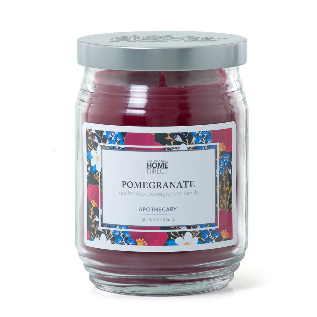 Apothecary Candle - 20 oz - Pomegranate