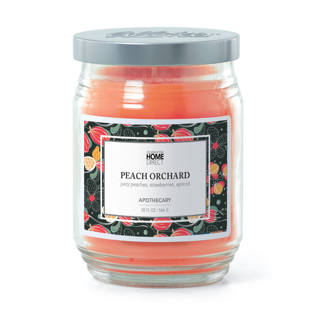 Apothecary Candle - 20 oz - Peach Orchard