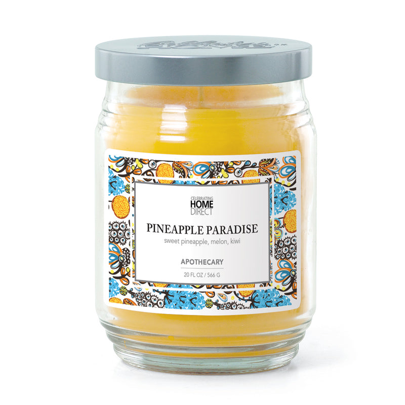 Apothecary Candle - 20 oz - Pineapple Paradise