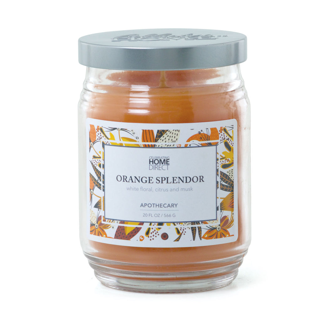 Apothecary Candle 20 oz. – Orange Splendor