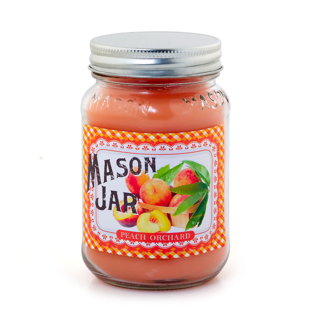 Mason Jar - Peach Orchard