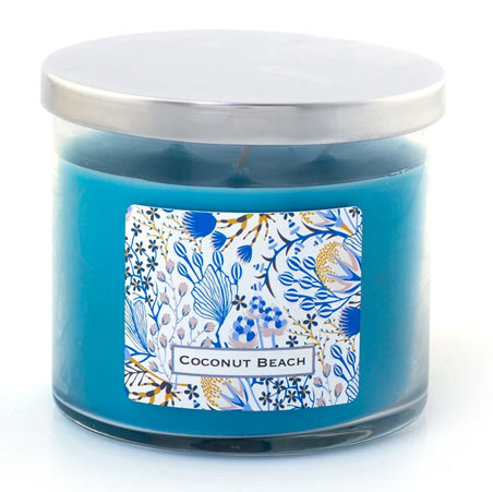3 Wick Candle - Coconut Beach