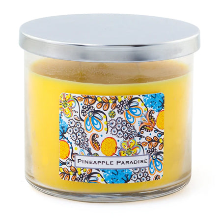 3 Wick Candle - Pineapple Paradise