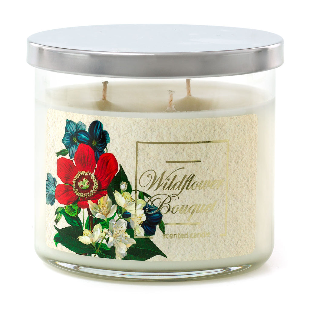 3 Wick Candle - Wildflower Bouquet