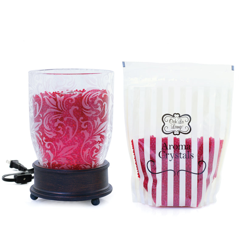 Ooh La Lamp® - Emma with Baked Apple Pie Aroma Crystals