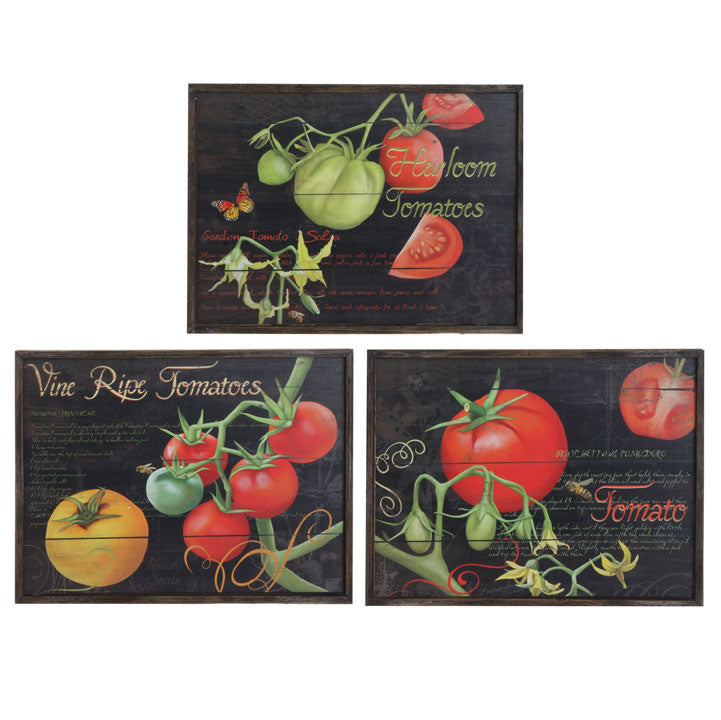 Heirloom Tomato Prints - Set of 3