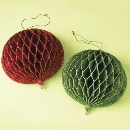 Honeycomb Ornaments