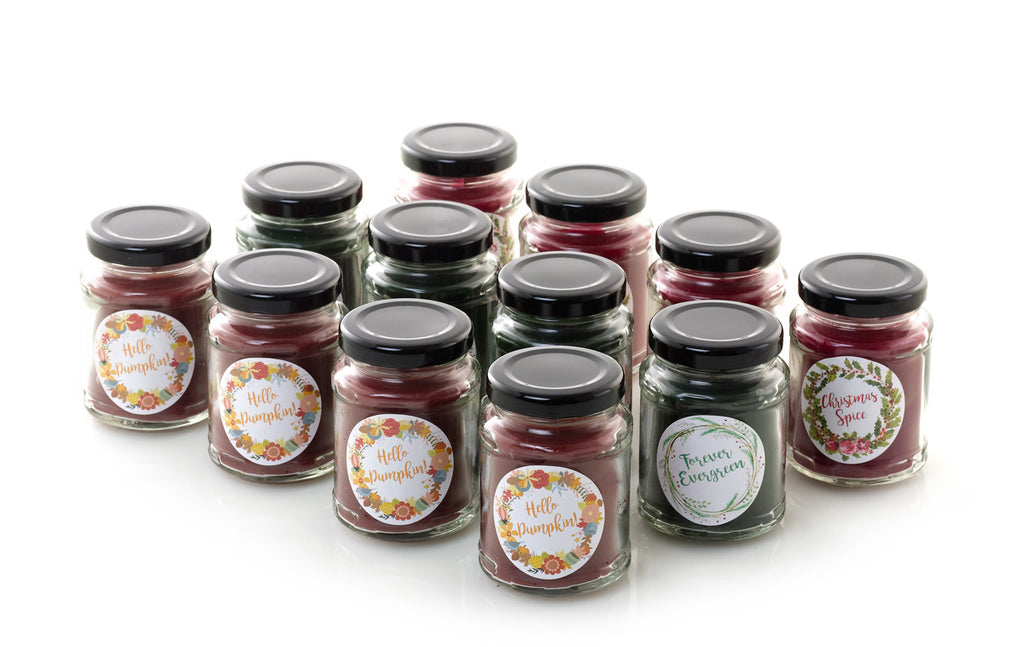 Holiday 12 Pack Candle Assortment