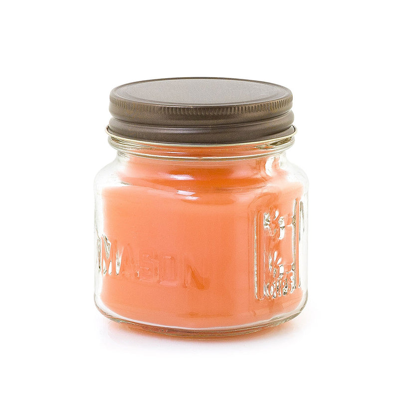 Mini Mason 8 oz. Candle - Peach Orchard