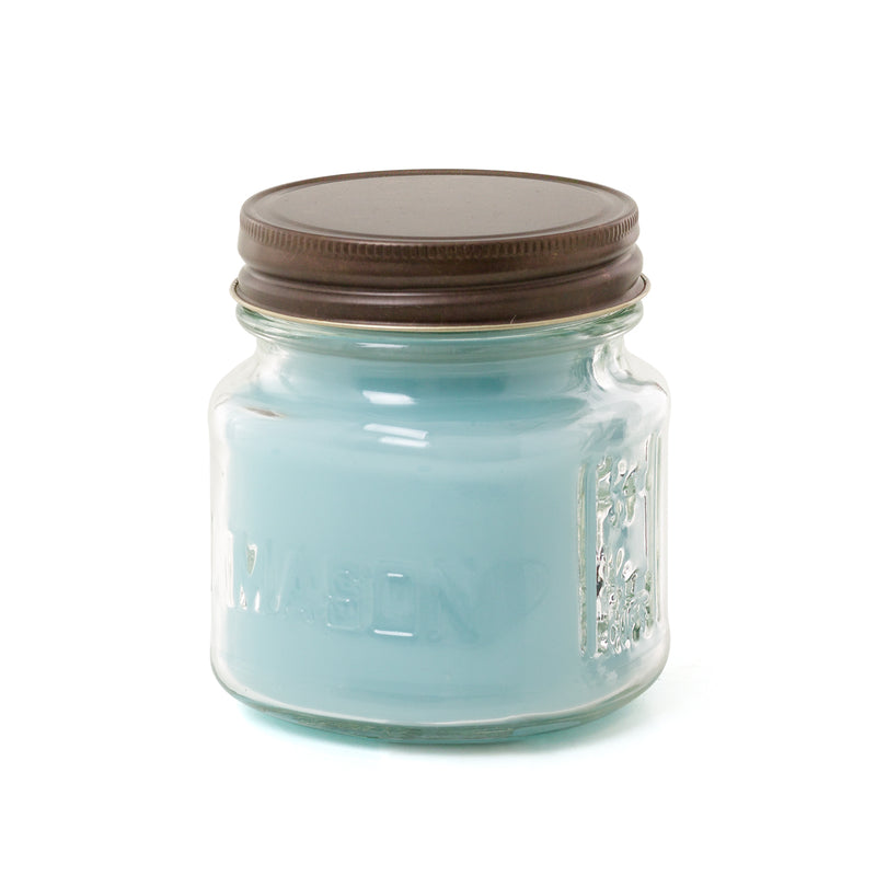 Mini Mason 8 oz. Candle - Eucalyptus Mint