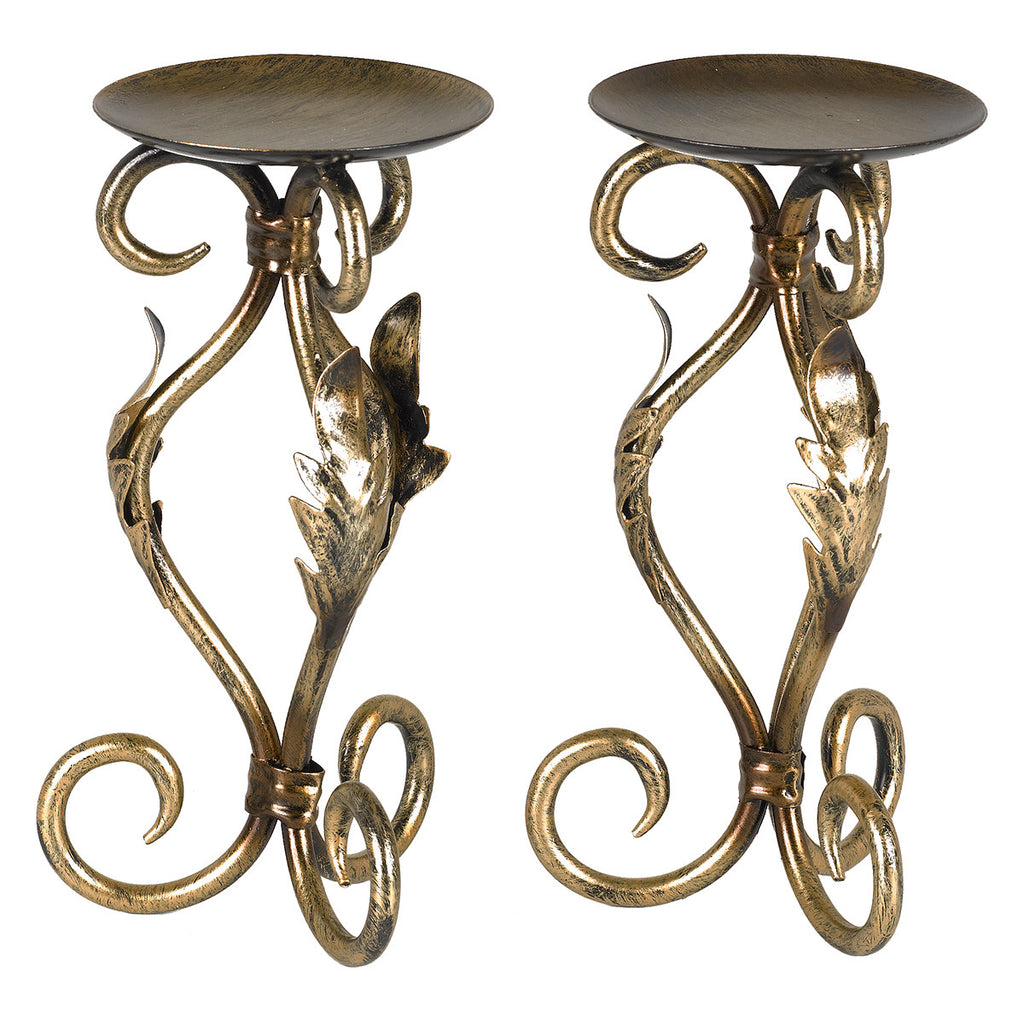 Dominica Candle Holders - Set of 2