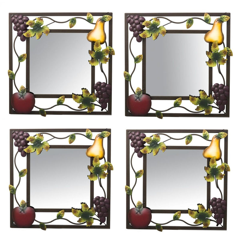 Sonoma Villa Mirror - Set of 4
