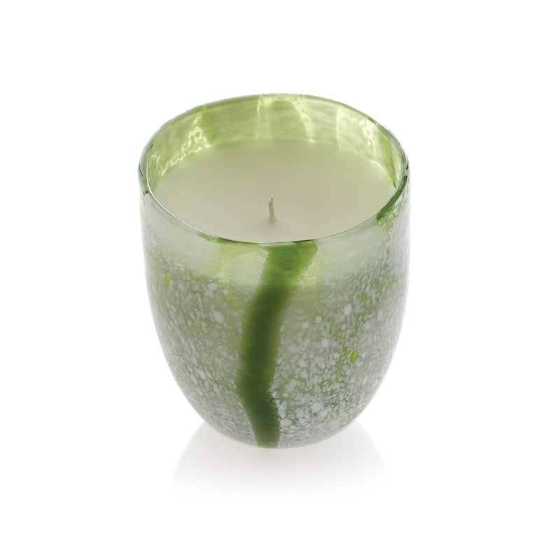 Japanese Tumbler - Green Candle