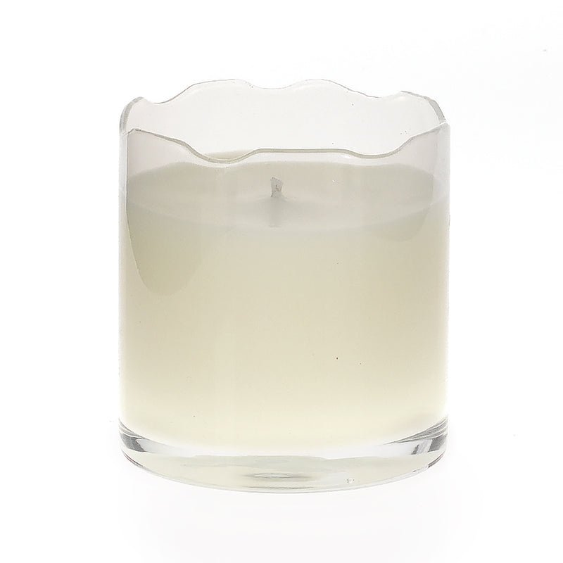 Scissor Cut Candle - Clear