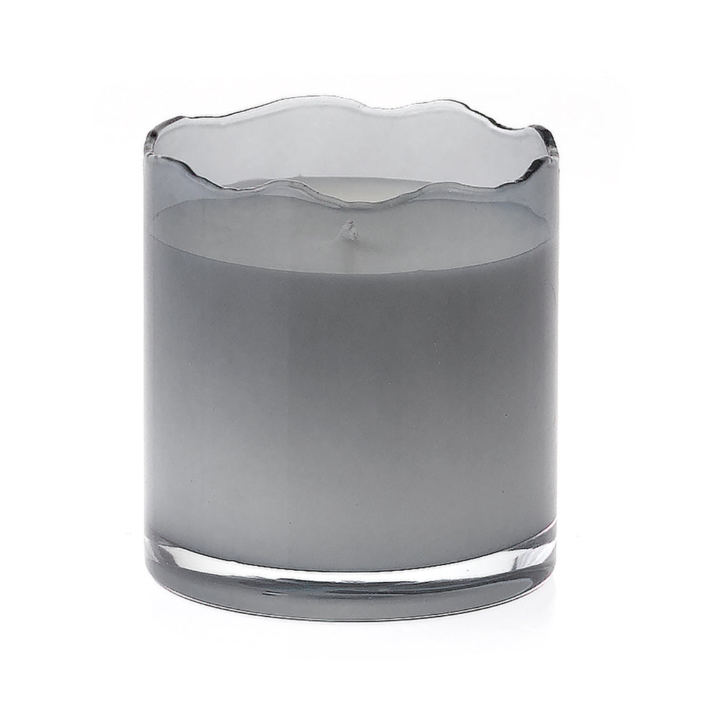 Scissor Cut Candle - Grey