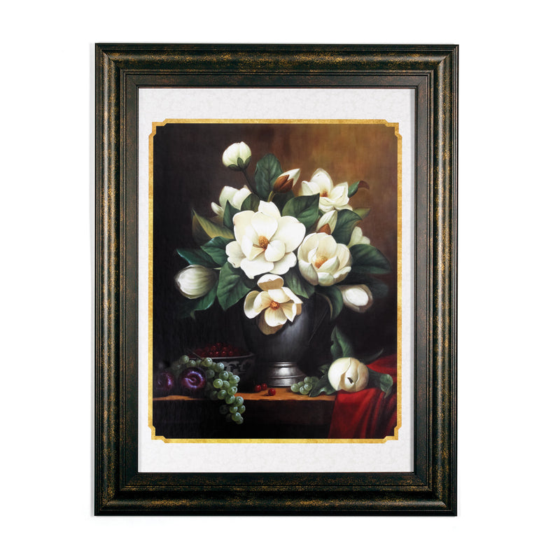 Wall Art - Magnolias and Fruit