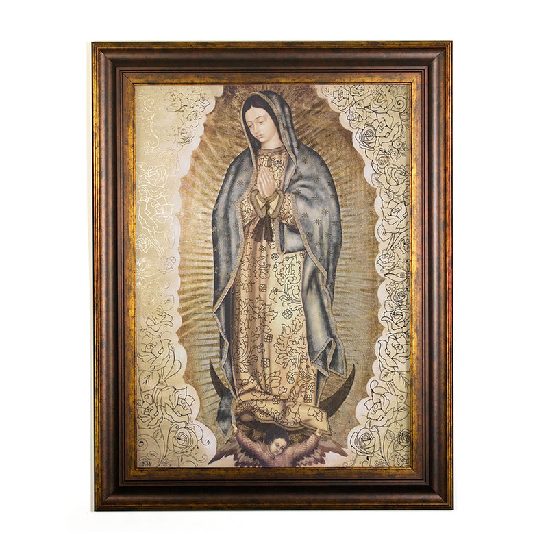Wall Art - Virgin de Guadalupe Queen of Tepeyac