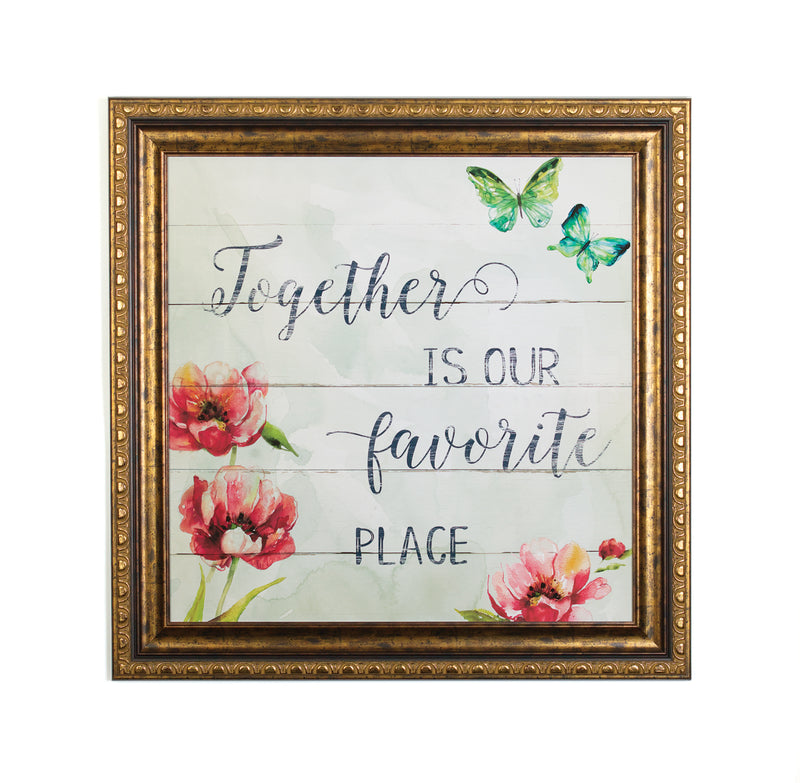 Wall Art - Together is our Favorite Place