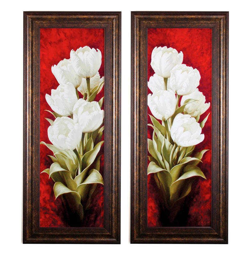 Wall Art - Magnificent Tulips - Set of 2