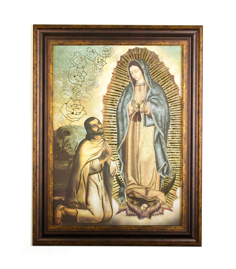 Wall Art - Guadalupe Juan Diego