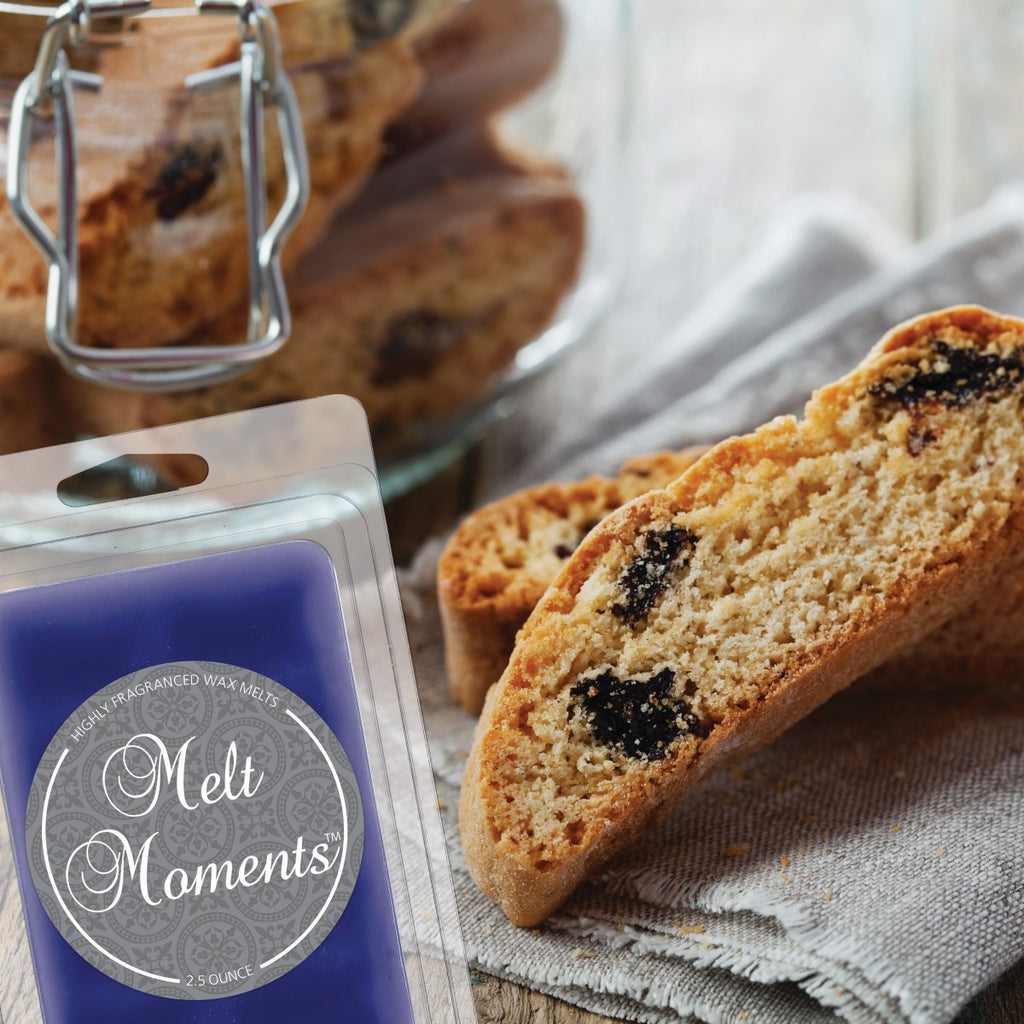 Blueberry Biscotti Melts