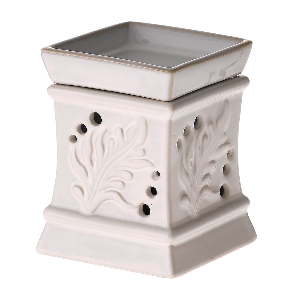 Palm Fragrance Warmer - Pearl