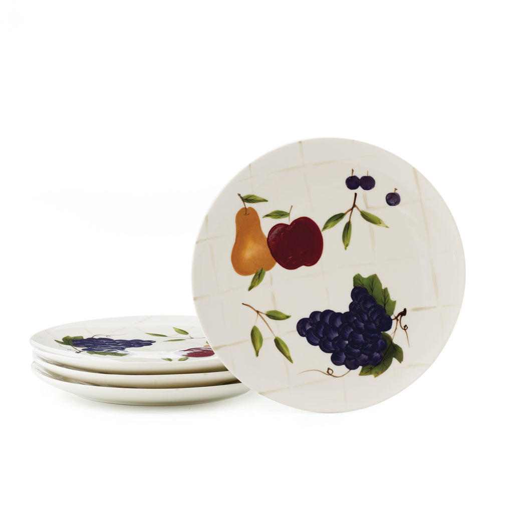SONOMA VILLA® SALAD PLATES - SET OF 4