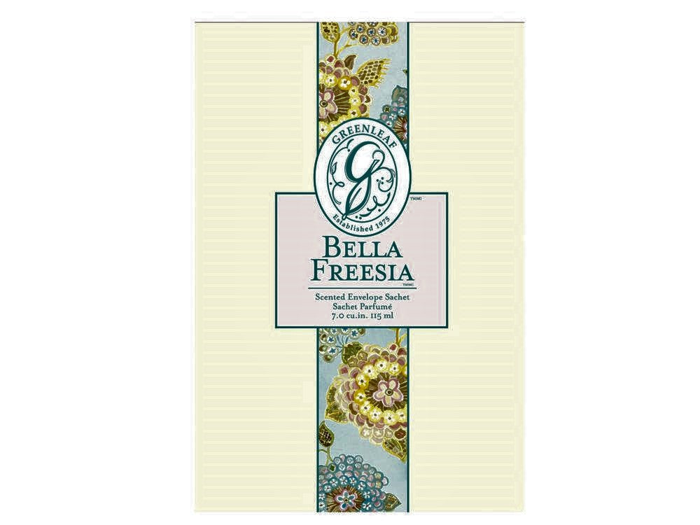 LARGE SACHET-BELLA FREESIA