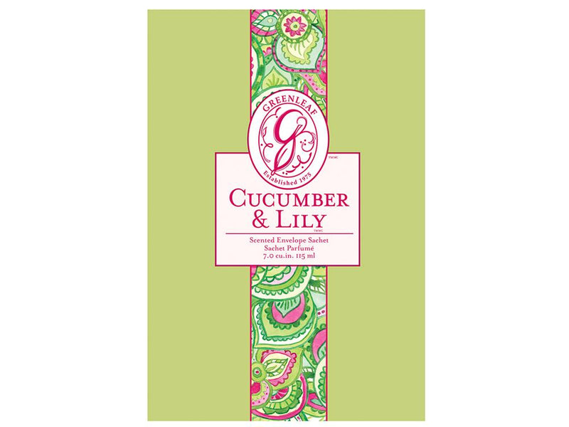 LARGE SACHET-CUCUMBER & LILY