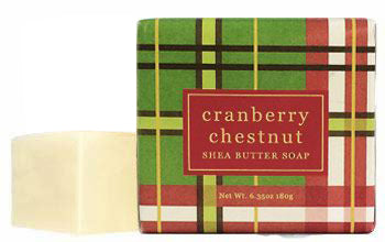 Greenwich Bay Soap - Cranberry Chestnut - 1 Bar (6.35 oz)