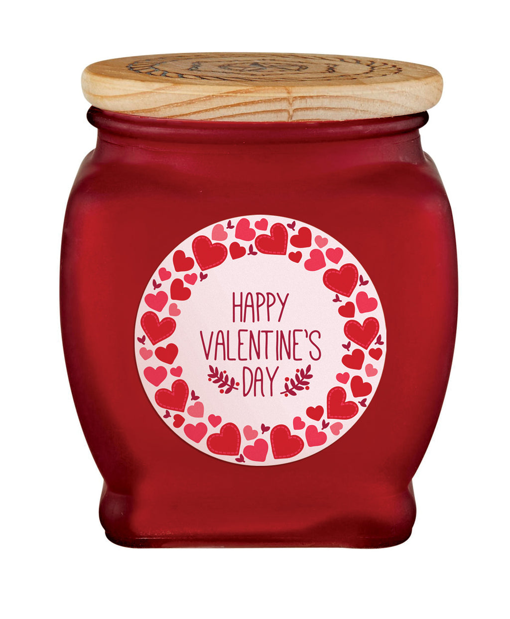 Happy Valentine's Day Candle