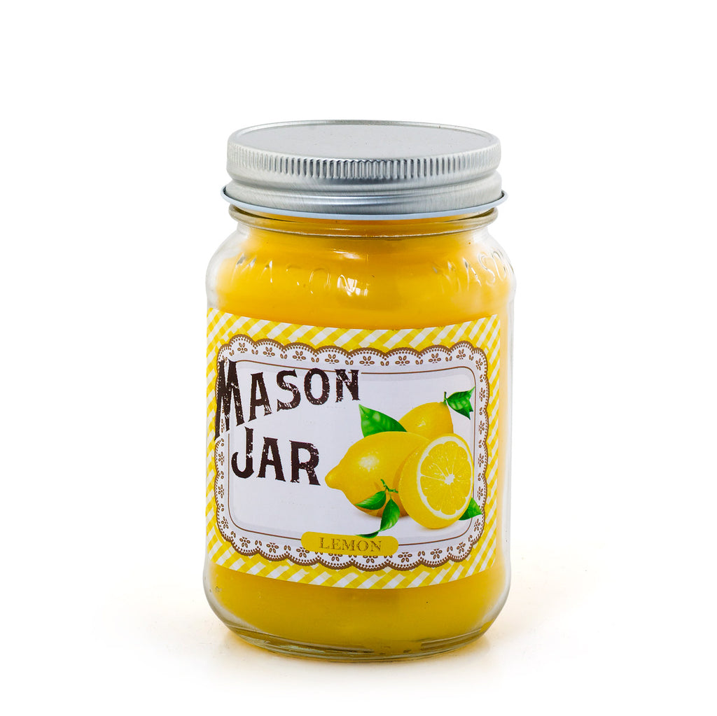 Mason Jar Candle - Lemon