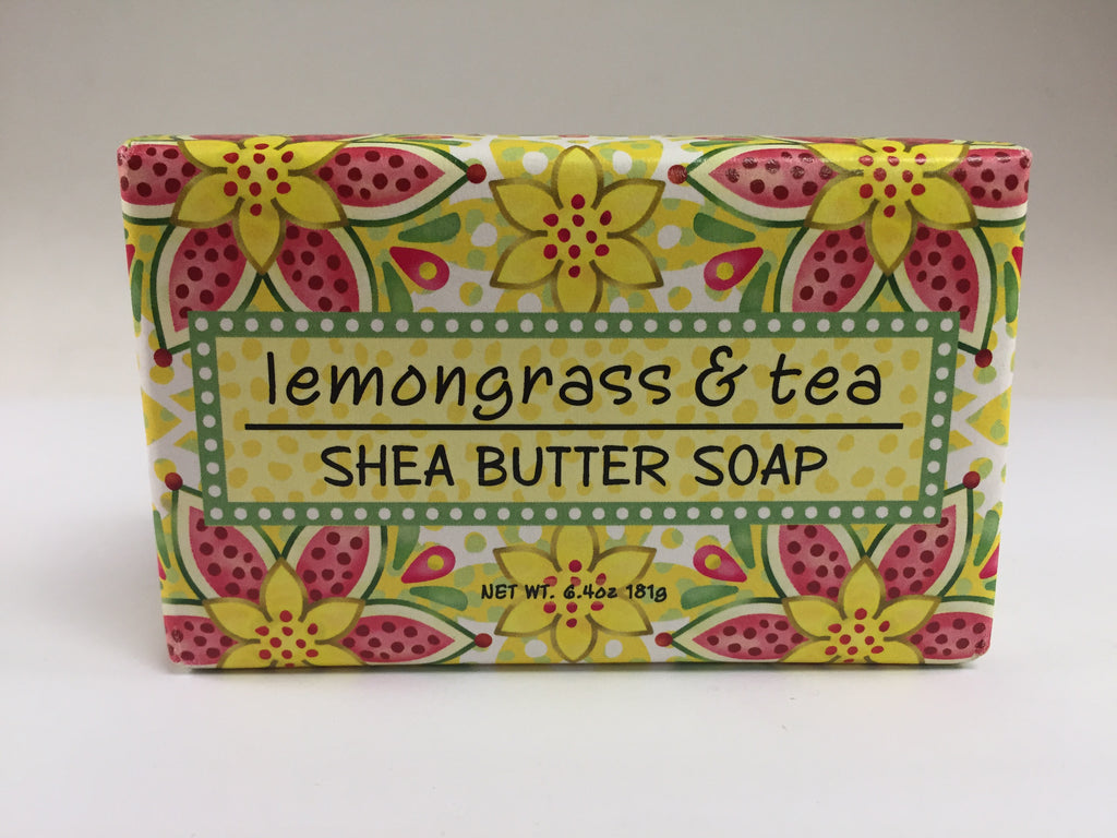 Greenwich Bay Soap - Lemongrass & Tea (6.4oz) 1 Bar