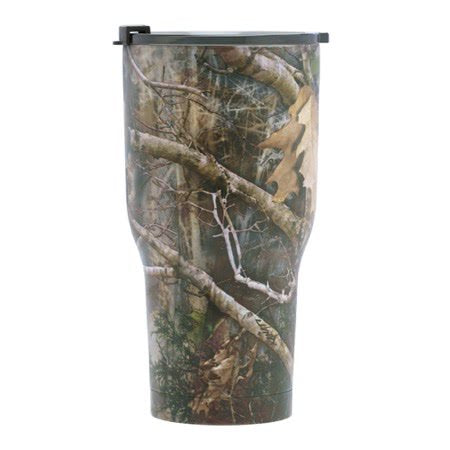 20 oz Personalized RTIC Tumbler - Camo with BIG INITIAL -       Click here to personalize!!!