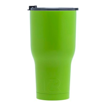 20 oz Personalized RTIC Tumbler - Lime Green with MONOGRAM -       Click here to personalize!!!