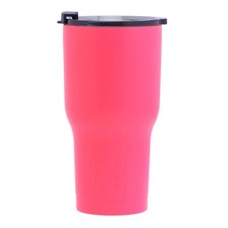 20 oz Personalized RTIC Tumbler - Pink with BIG INITIAL -       Click here to personalize!!!
