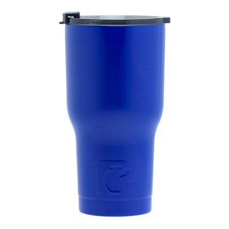 20 oz Personalized RTIC Tumbler - Royal Blue with BIG INITIAL -       Click here to personalize!!!