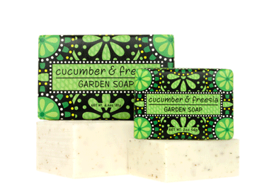 Greenwich Bay Soap - Cucumber & Freesia Shea Butter (6.4 oz) 1 Bar