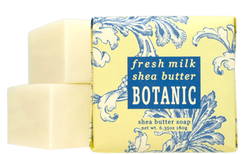 Greenwich Bay Soap - Fresh Milk & Shea Butter Botanic (6.35 oz) 1 Bar