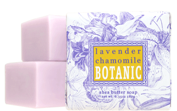 Greenwich Bay Soap - Lavender Chamomile Botanic Shea Butter (6.35 oz) 1 Bar