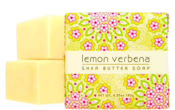 Greenwich Bay Soap - Lemon Verbena Shea Butter (6.35oz) 1 Bar