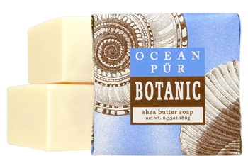 Greenwich Bay Soap - Ocean Pur Botanic Shea Butter (6.35oz) 1 Bar