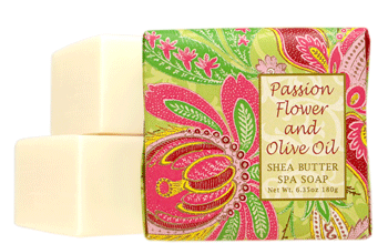 Greenwich Bay Soap - Passion Flower & Olive Oil Shea Butter  (6.35 oz) 1 Bar