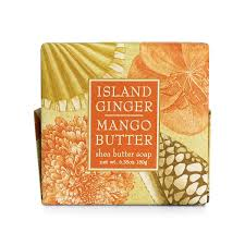 Greenwich Bay Soap - Island Ginger Mango Butter (6.35 oz.) 1 bar