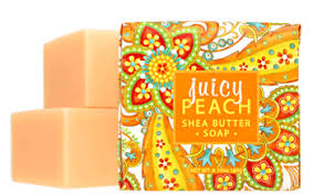 Greenwich Bay Soap - Juicy Peach Shea (6.35 oz.) 1 bar