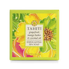 Greenwich Bay Soap - Tahiti Exfoliating Spa Soap (6.35 oz.) 1 bar
