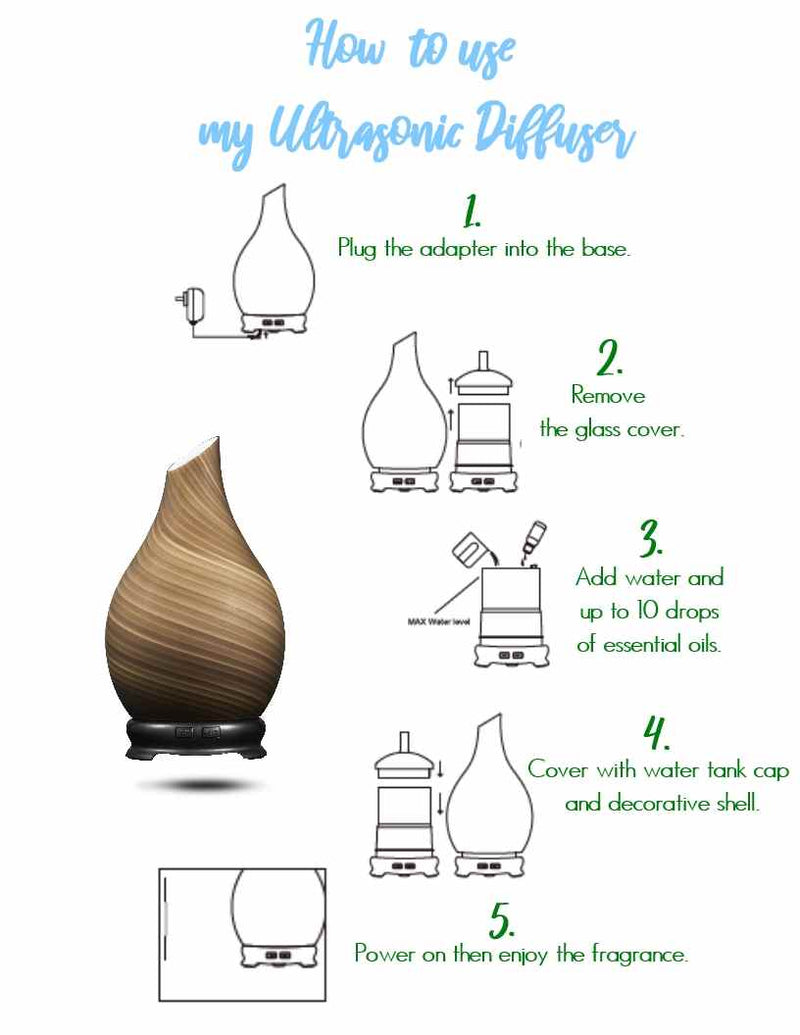 ULTRASONIC DIFFUSER - BRILLIANCE